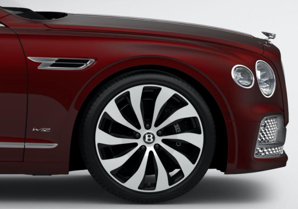 Bentley Flying Spur получил три новые оттенка -Viridian, Patina и Snow Quartz