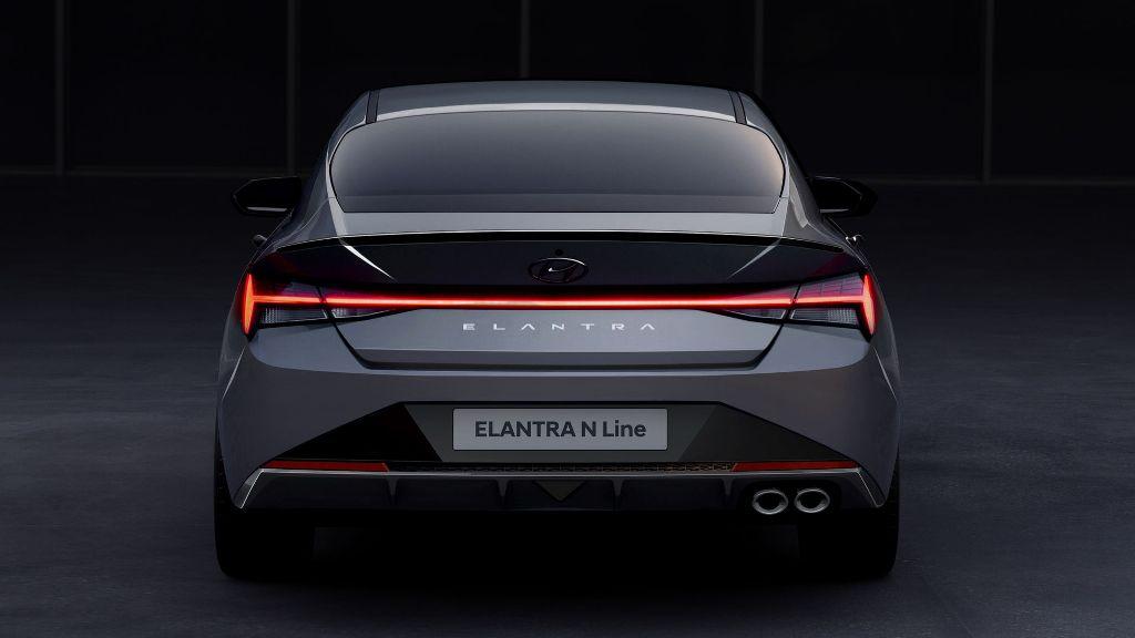 Ожидается, что премьера Hyundai Elantra N-Line состоится в ближайшие месяцы