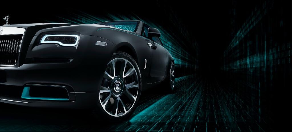 Rolls-Royce Wraith Kryptos выйдет тиражом в 50 экземпляров