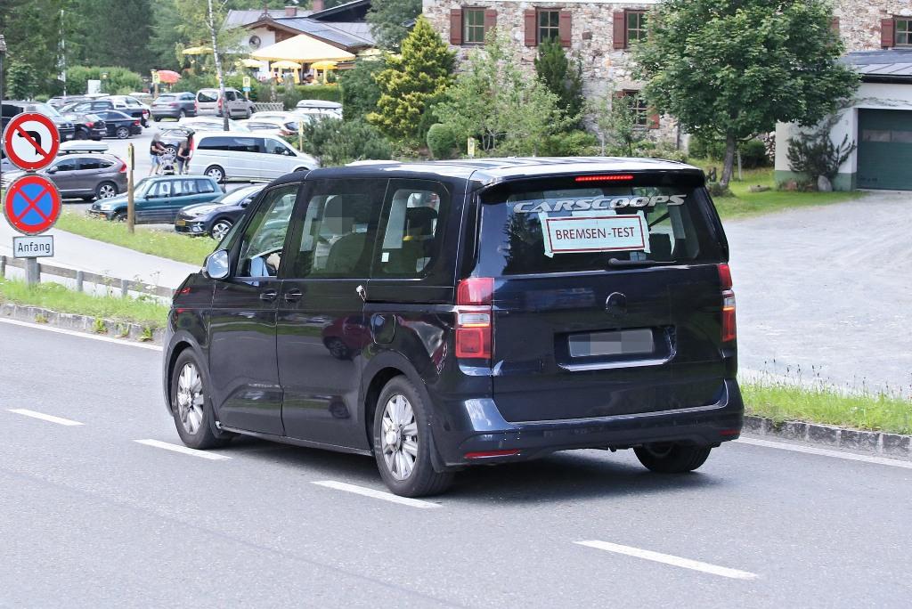 """""""Транспортер"""" будет основан на универсальной платформе MQB Volkswagen Group"""
