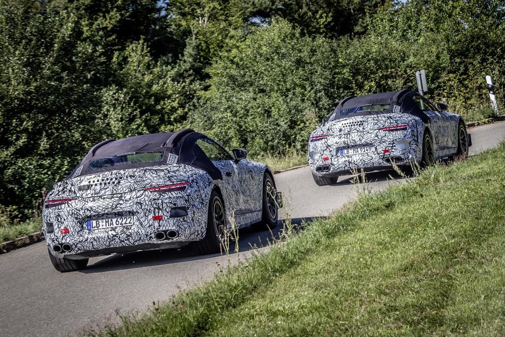 По слухам, Mercedes-Benz SL будет построен на модульной платформе MSA