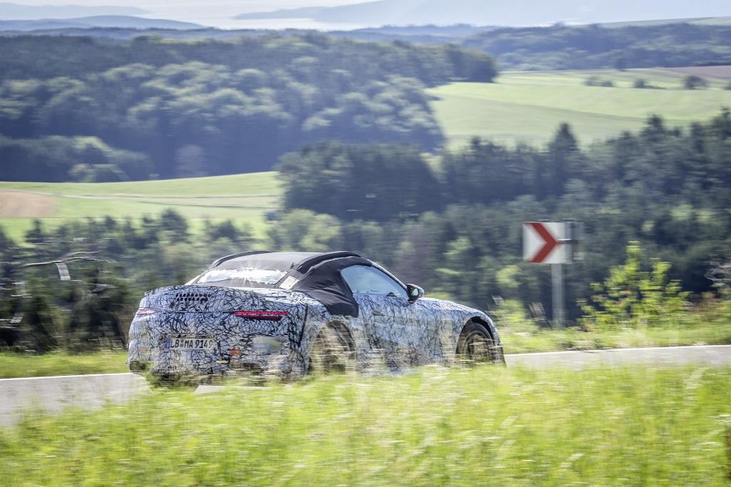 Новое поколение SL будет специализированной моделью Mercedes-AMG