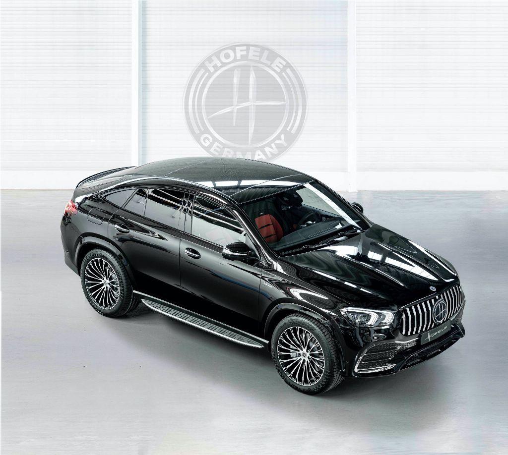 Доработанный автомобиль выполнен в стилистике топовых моделейMercedes-Maybach