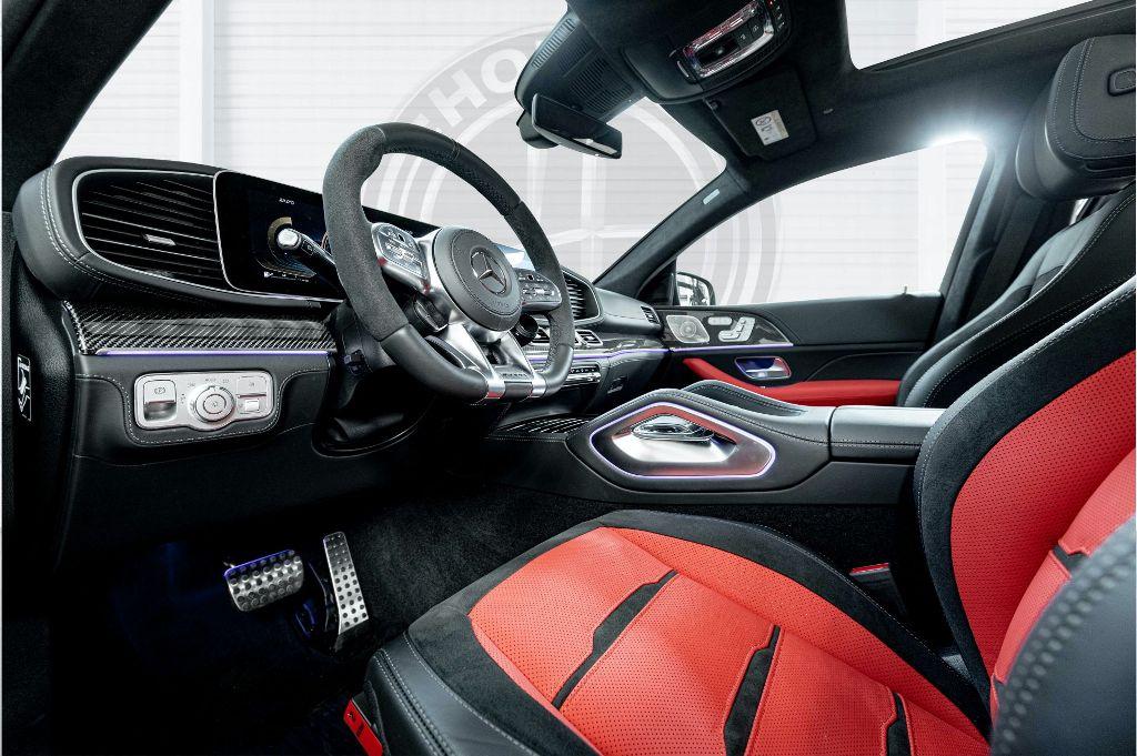 Для отделки интерьера HGLE Coupe специалисты Hofele предлагают клиентам максимальную степень персонализации