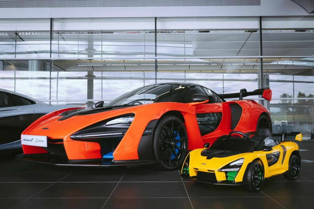 Электрическая игрушка получила название Senna Ride-On