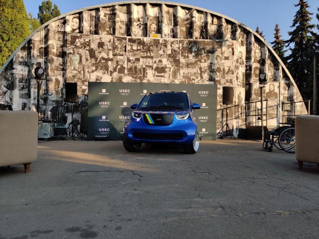 Транспортное средство получило название Ukrainian Social Electric Car (USEC)