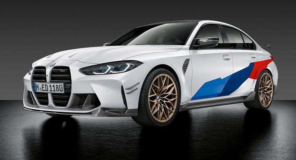 Новые BMW M3 и M4 получили пакет M Performance