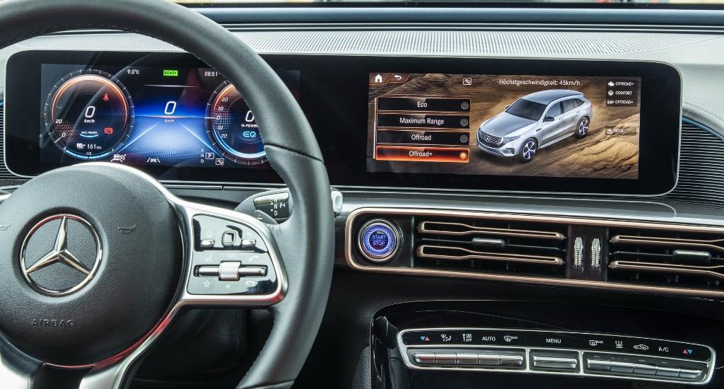 Прототипу добавили два новый режима вождения - Offroad и Offroad Plus