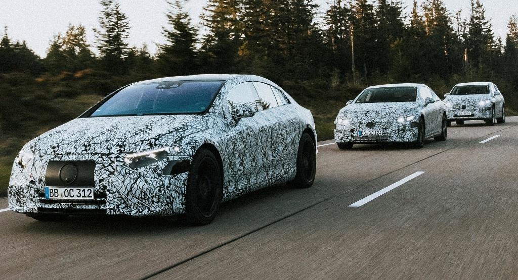 Mercedes добавит в линейку шесть новых электромобилей