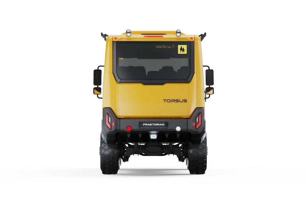 В качестве силовой установки выступает 6,9-литровый шестицилиндровый дизельный двигатель MAN мощностью 290 л.с. и 1150 Нм крутящего момента