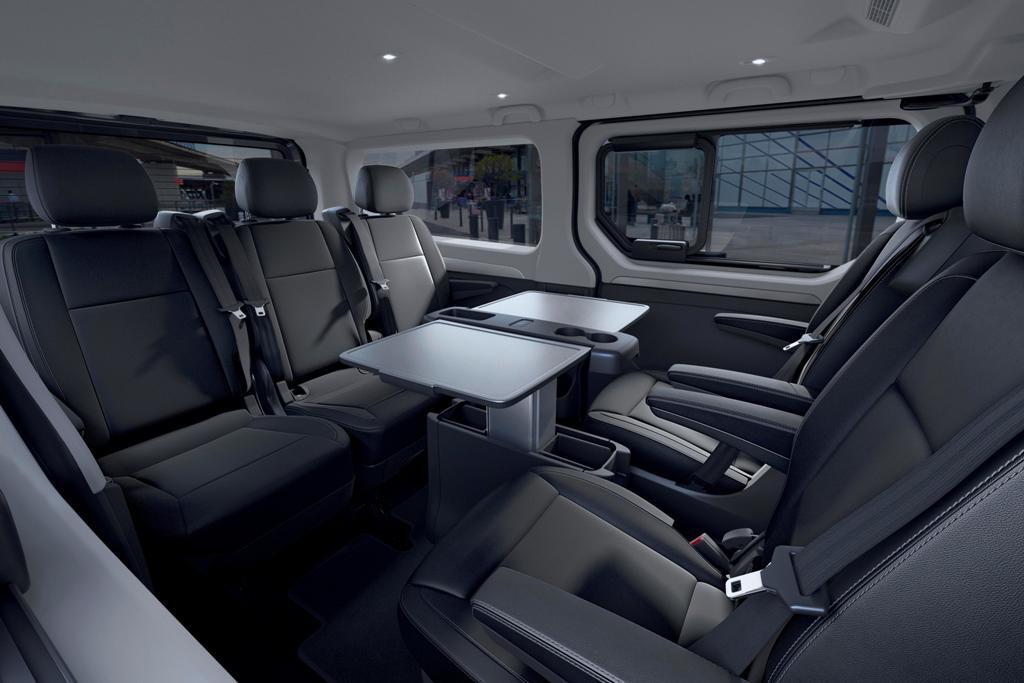 В салоне может разместиться до 9 пассажиров