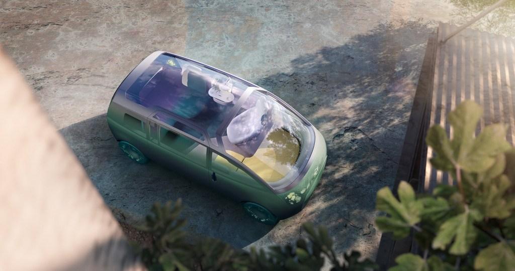 Концепт-кар призван продемонстрировать новое направления развития мобильности с акцентом на комфорт пассажиров