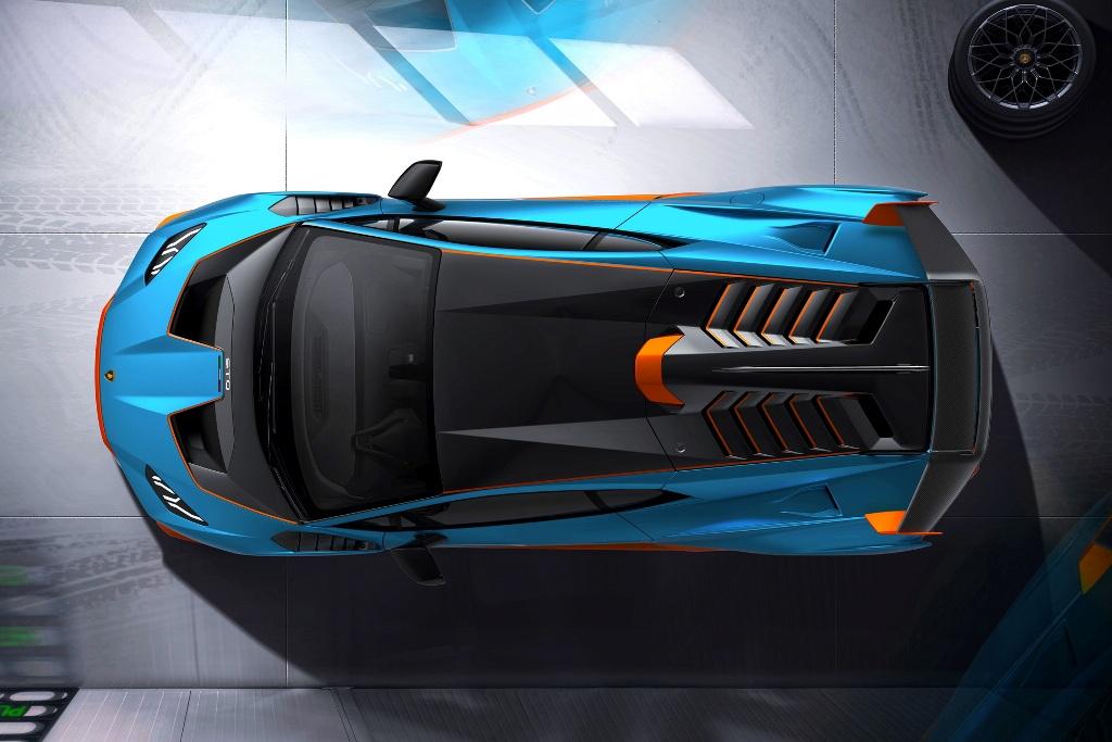На суперкаре реализована идея спортивного капота, который объединяет три компонента - капот, крылья и бампер