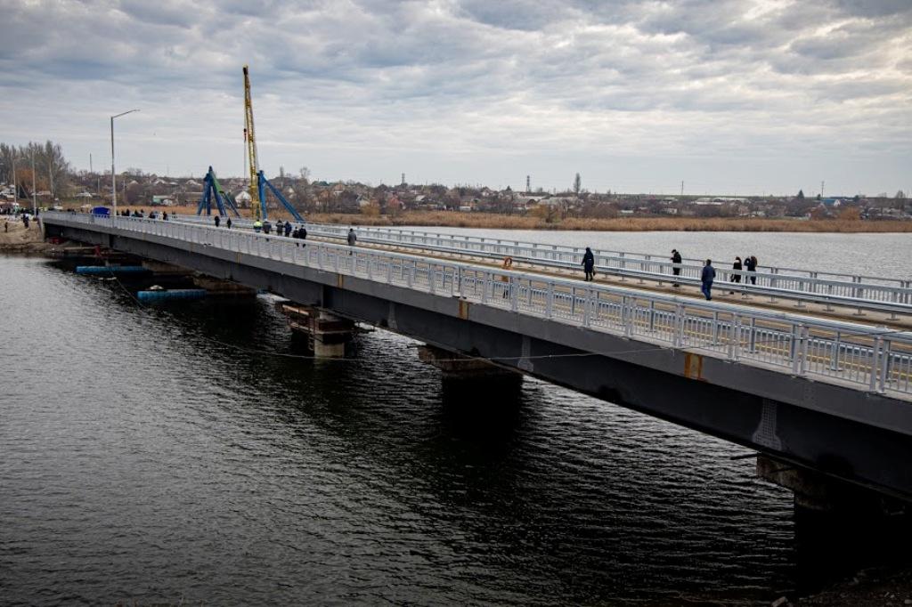 Алексеевский мост восстановлен