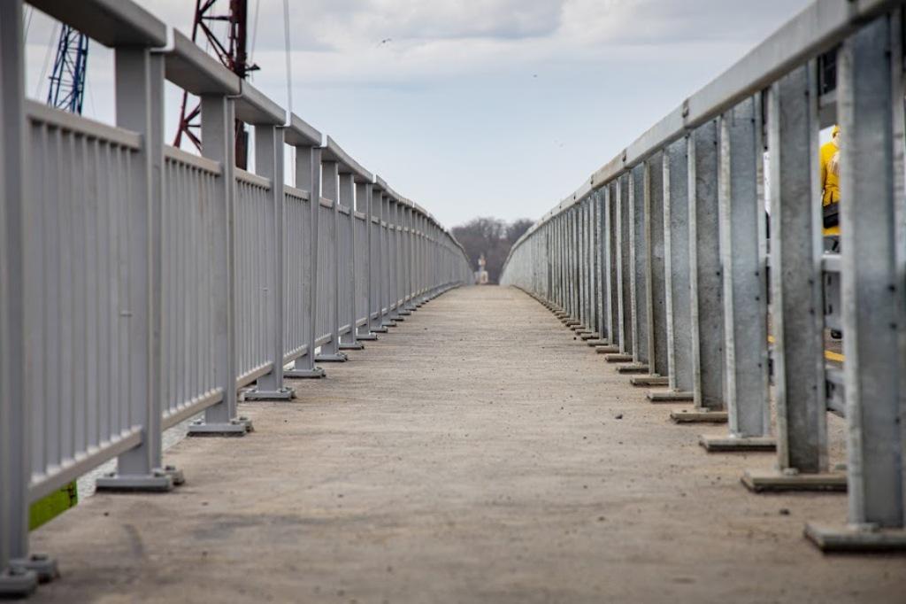 """Мост восстановили практически """"с нуля"""""""