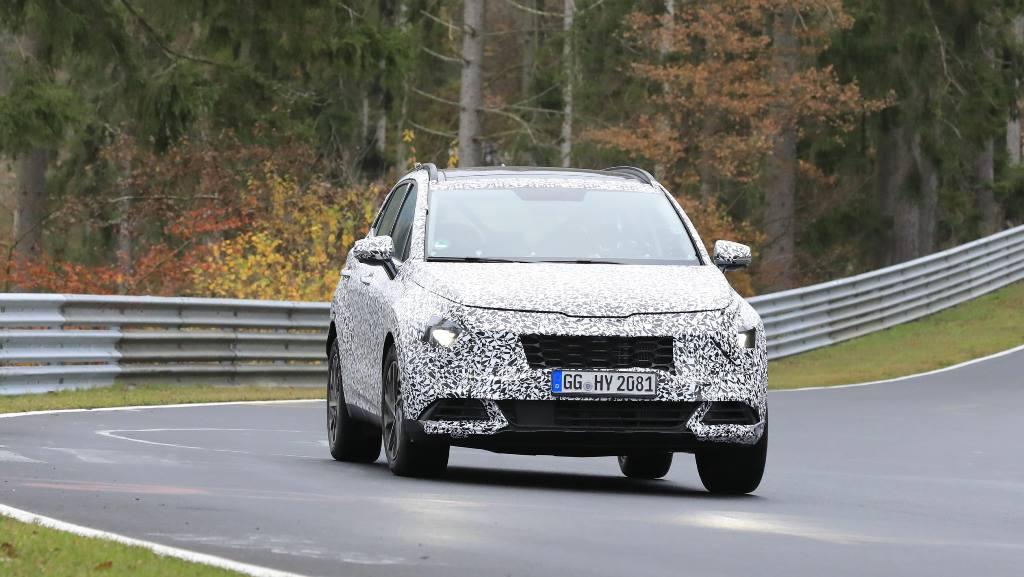 Следующая генерация Kia Sportage будет базироваться на новой модульной платформе