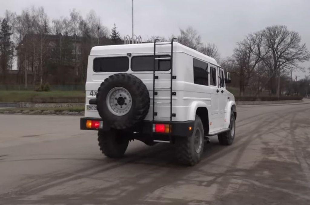 В основу авто лег ГАЗ-66