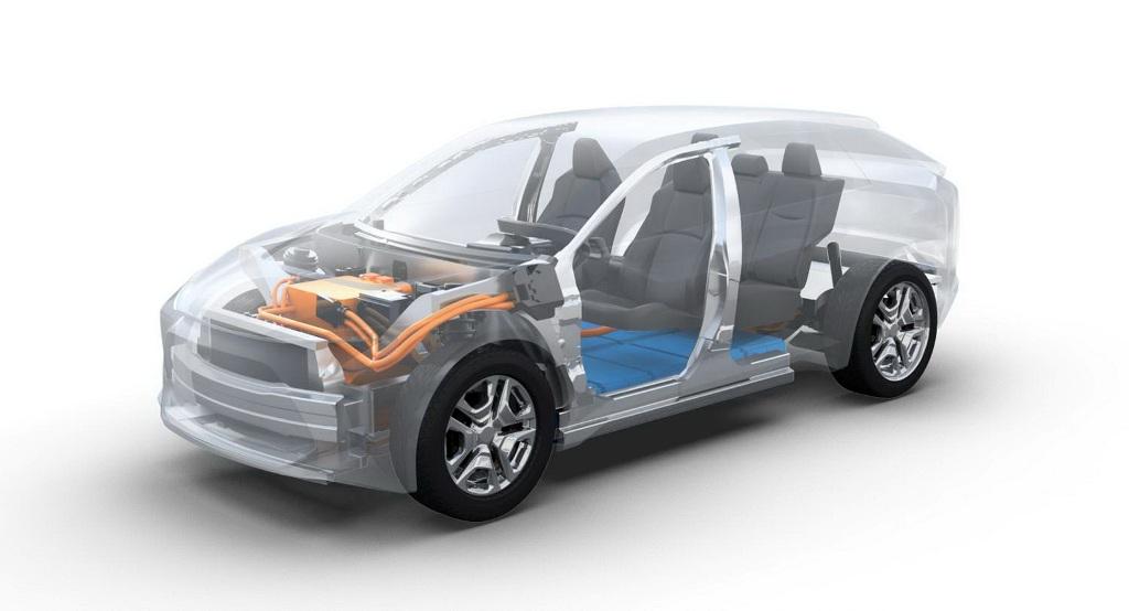 Электрокроссовер Toyota