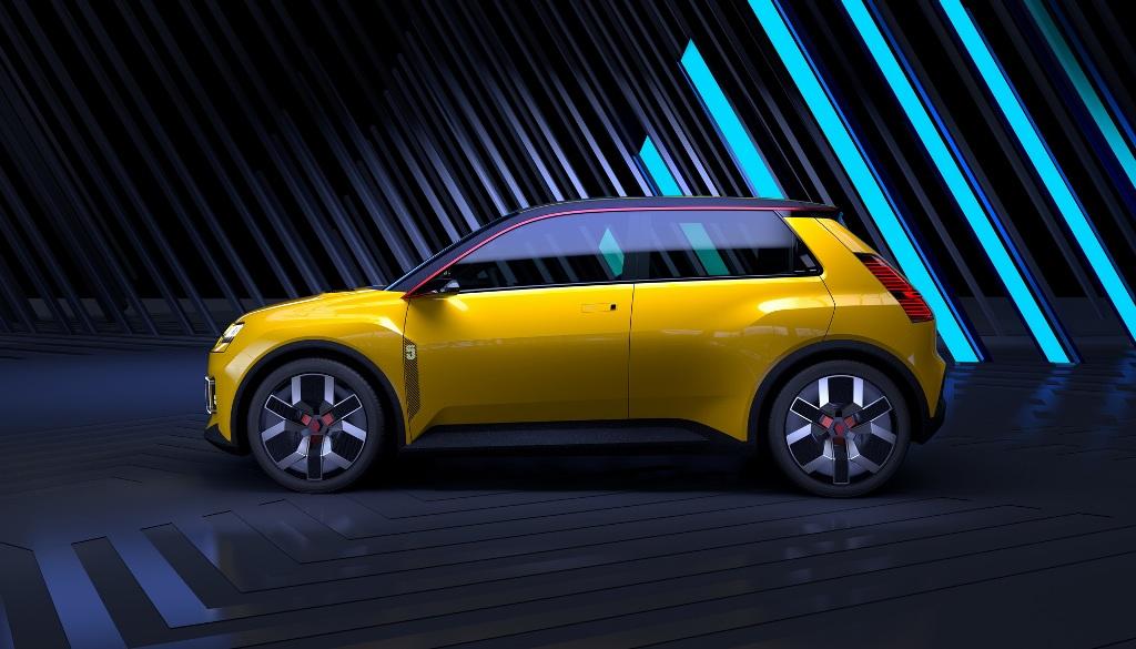 Сити-кар будет современное воплощение культового городского автомобиля R5