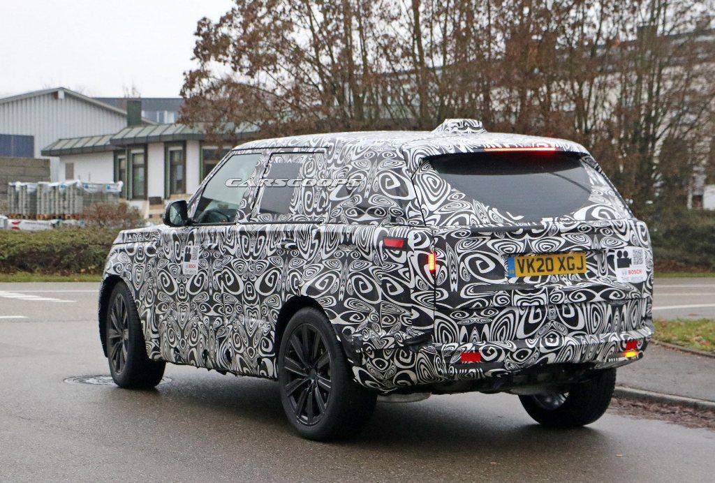 Range Rover дебютирует во второй половине текущего года