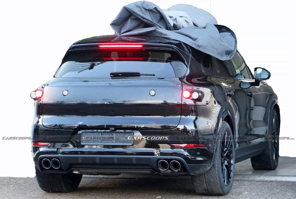 Официальный дебют Porsche Cayenne состоится в конце 2021 года