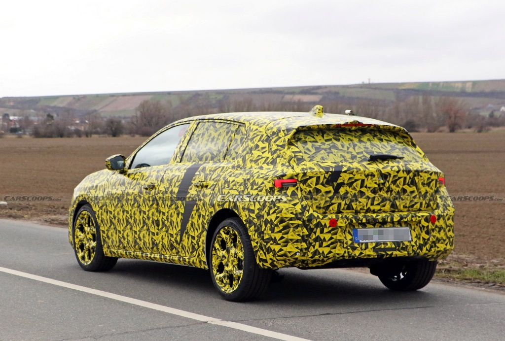 Хэтчбек будет выполнен в фирменной стилистике бренда Opel Vizo