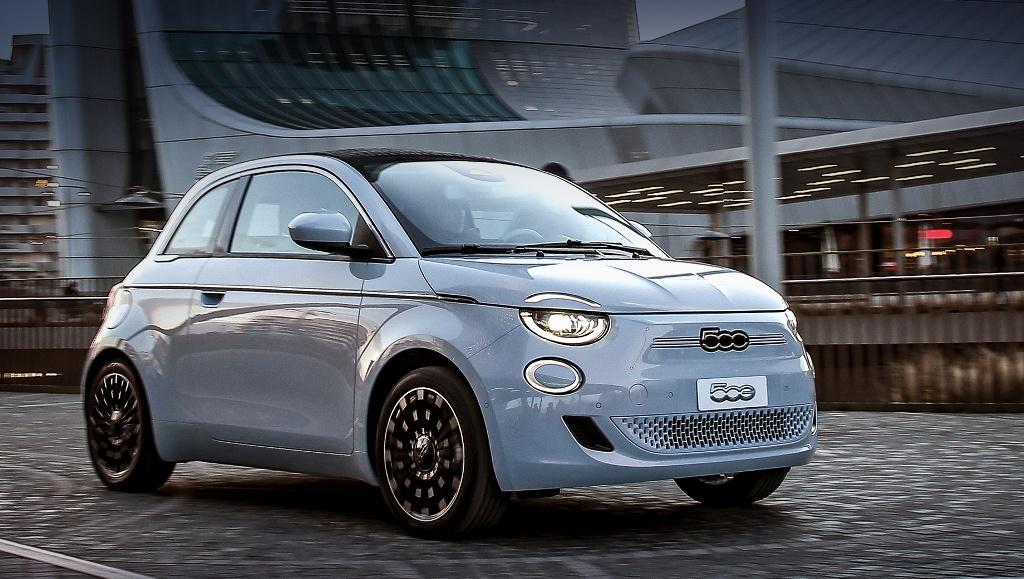 Fiat 500e - 240 баллов