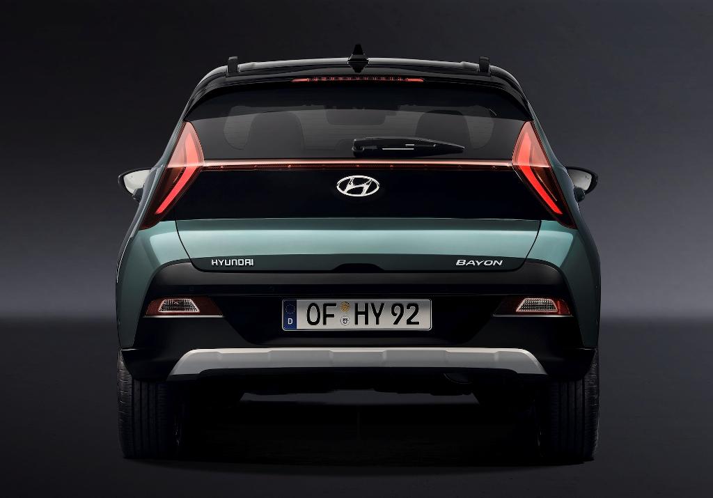 Bayon построен на той же модульной платформе, что и хэтчбек Hyundai i20