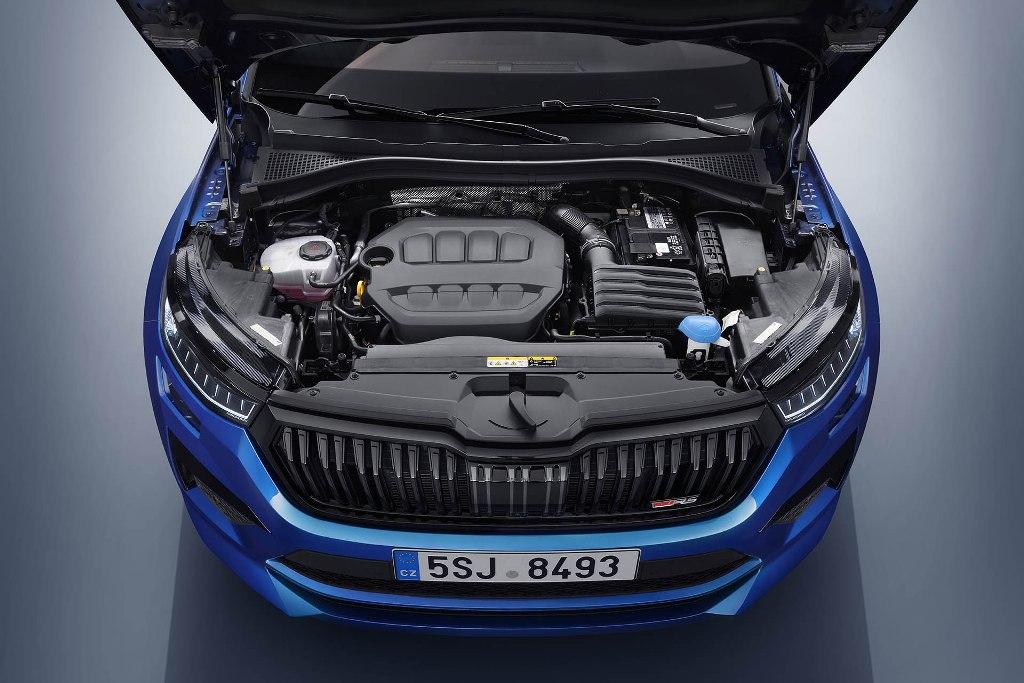 Кроссовер оснащен 2,0-литровым бензиновым двигателем TSI мощностью 245 л.с.