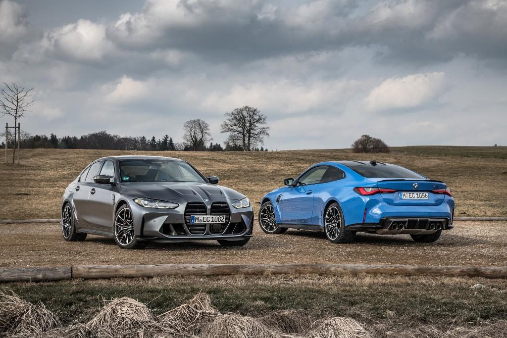 BMW M3 и M4 Competition