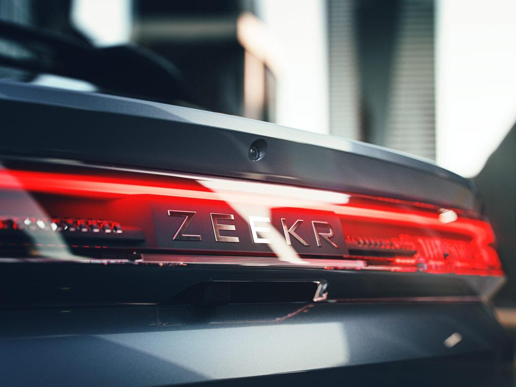 Официальный дебют Zeekr 001 состоится на автосалоне в Шанхае