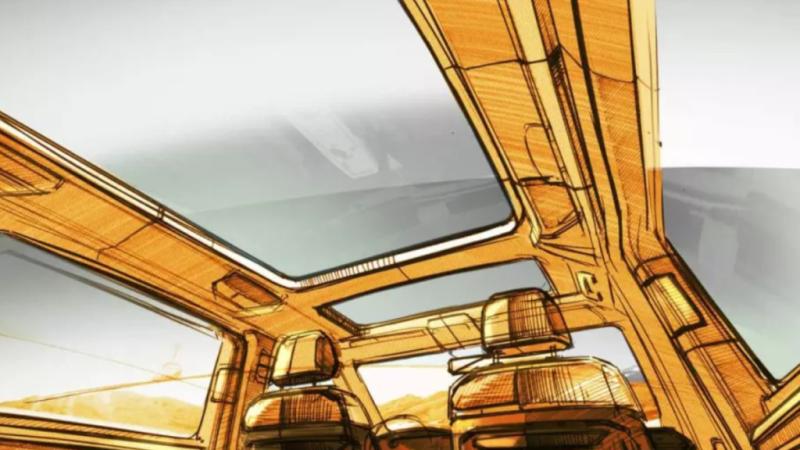 следующее поколение Multivan получит панорамную крышу