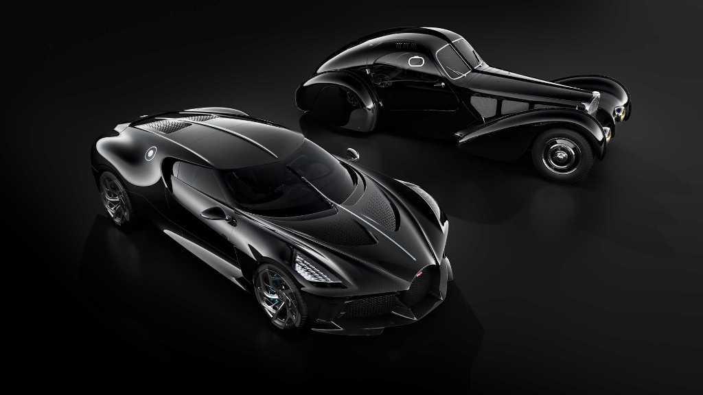 La Car Noire считался современной интерпретацией личного Type 57 SC Atlantic Жана Бугатти