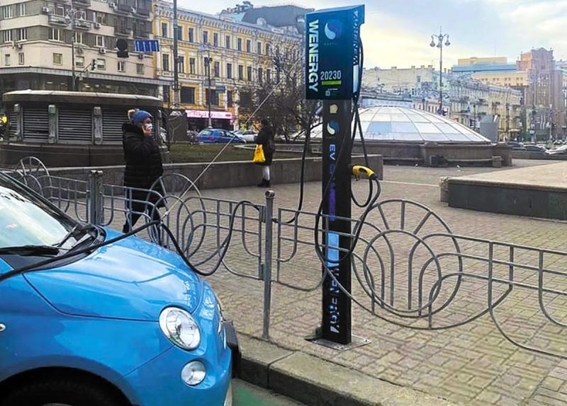 Электромобиль можно зарядить за 2-2,5 часа