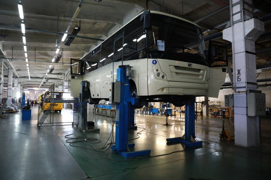 Также предприятия производит сборку школьных автобусов