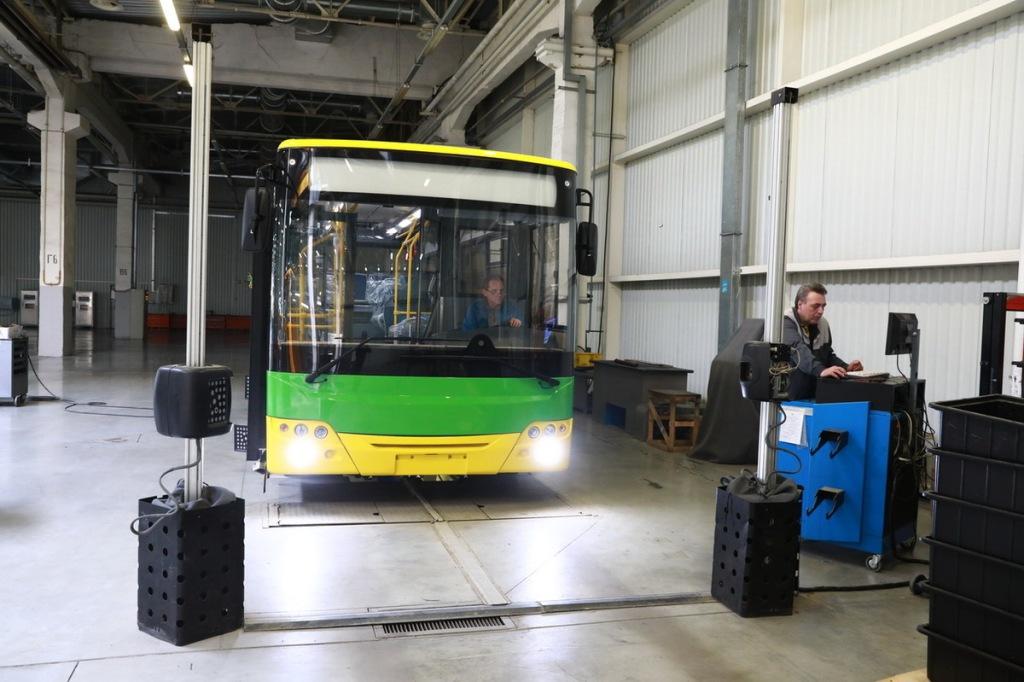 В апреле этого года было собрано 8 автобусов