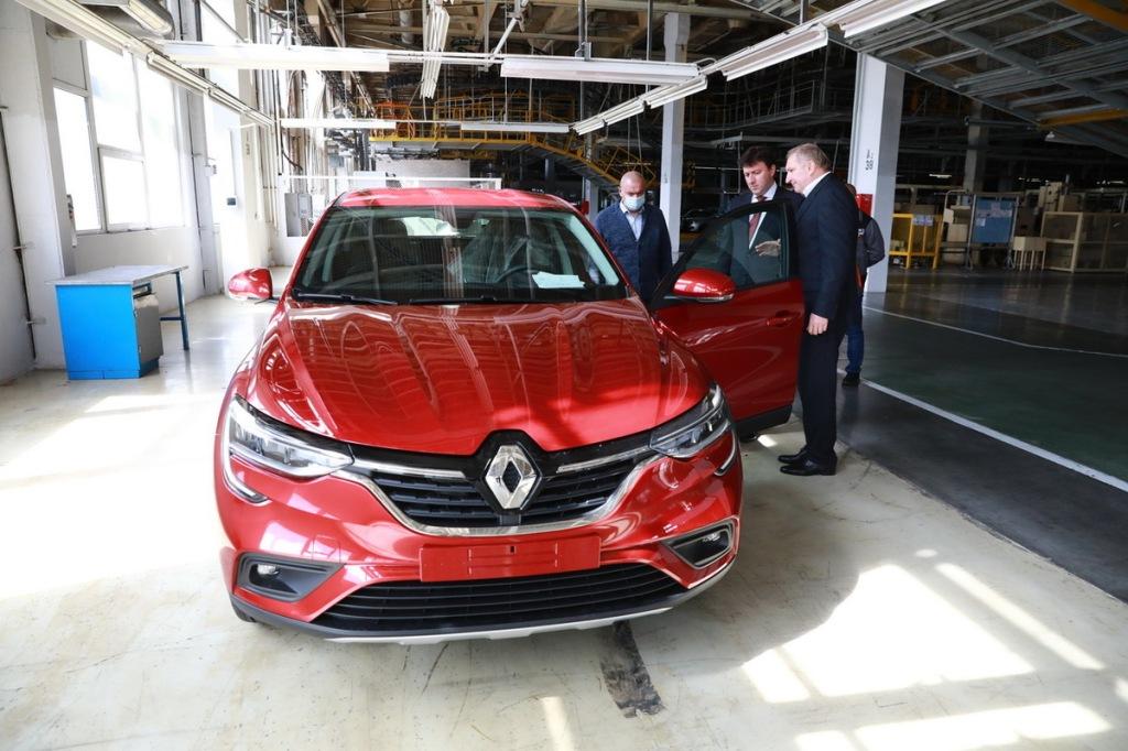 С 2020 года на заводе собирают автомобили Renault Arkana